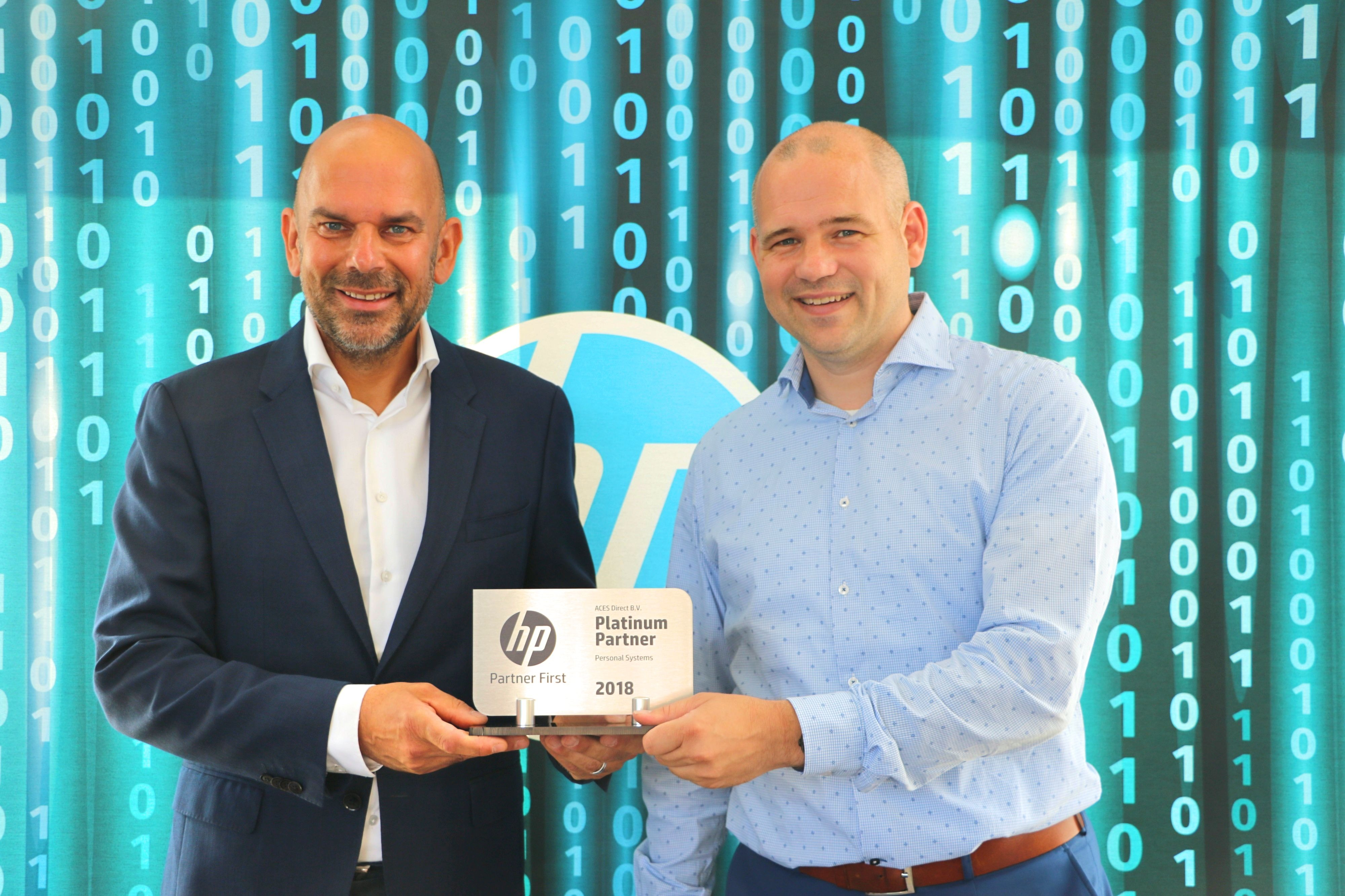 uitereiking HP Platinum status